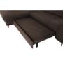 Kép 19/23 - SWION Ülőgarnitúra - barna,  balos kivitel