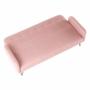 Kép 4/20 - PULSA Kanapé ágyfunkcióval,  rózsaszín