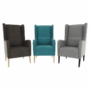 Kép 12/20 - BREDLY Kényelmes fotel,  türkíz/bükk