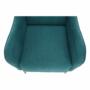 Kép 14/20 - BREDLY Kényelmes fotel,  türkíz/bükk