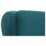 Kép 15/20 - BREDLY Kényelmes fotel,  türkíz/bükk