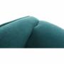 Kép 17/20 - BREDLY Kényelmes fotel,  türkíz/bükk