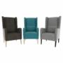 Kép 5/18 - BREDLY Kényelmes fotel,  szürke/fekete