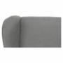 Kép 14/18 - BREDLY Kényelmes fotel,  szürke/fekete