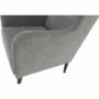 Kép 15/18 - BREDLY Kényelmes fotel,  szürke/fekete