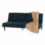 Kép 3/21 - BUFALA kanapé ágyfunkcióval,  kék Velvet anyag