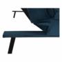 Kép 13/21 - BUFALA Kanapé ágyfunkcióval,  kék Velvet anyag