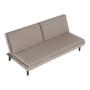 Kép 13/25 - BUFALA kanapé ágyfunkcióval,  szuükésbarna velvet anyag