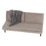 Kép 14/25 - BUFALA kanapé ágyfunkcióval,  szuükésbarna velvet anyag