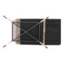 Kép 20/25 - BUFALA kanapé ágyfunkcióval,  szuükésbarna velvet anyag