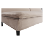 Kép 21/25 - BUFALA kanapé ágyfunkcióval,  szuükésbarna velvet anyag