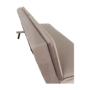 Kép 25/25 - BUFALA kanapé ágyfunkcióval,  szuükésbarna velvet anyag