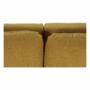Kép 15/27 - KENZA Kanapé ágyfunkcióval,  mustár színű
