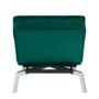 Kép 16/21 - REMAN Fotel ágyfunkcióval,  smaragd/króm