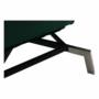 Kép 11/21 - REMAN Fotel ágyfunkcióval,  smaragd/króm