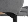 Kép 2/31 - COPER Ülőgarnitúra ülés mélység beálítással - szürke,  balos kivitel