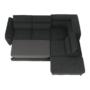 Kép 11/29 - COPER Ülőgarnitúra ülés mélység beálítással - szürke,  jobbos kivitel
