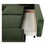 Kép 3/25 - SELBY Ülőgarnitúra - zöld,  balos kivitel