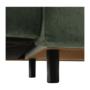 Kép 6/25 - SELBY Ülőgarnitúra - zöld,  balos kivitel