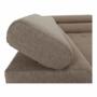 Kép 12/33 - AMARETO Sarokülőgarnitúra - barna/bézs,  balos kivitel [NEW]