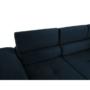 Kép 23/25 - AMARETA Sarokülőgarnitúra - kék,  balos kivitel
