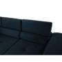 Kép 5/25 - AMARETA Sarokülőgarnitúra - kék,  jobbos kivitel