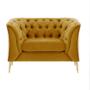 Kép 3/5 - NIKOL Luxus fotel,  arany [1 ML]