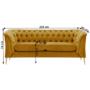 Kép 5/5 - NIKOL Luxus 2,5-ülés - arany,  rendelésre [2,5 ML]