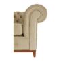 Kép 5/24 - TIFANY Luxus fotel,  világosbarna [1]