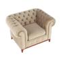 Kép 13/24 - TIFANY Luxus fotel,  világosbarna [1]