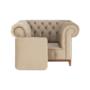 Kép 14/24 - TIFANY Luxus fotel,  világosbarna [1]