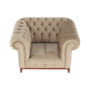 Kép 19/24 - TIFANY Luxus fotel,  világosbarna [1]