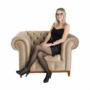 Kép 22/24 - TIFANY Luxus fotel,  világosbarna [1]