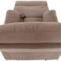 Kép 3/27 - LAMBERT Állítható masszázs  fotel,  fekete bársony anyag