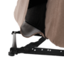 Kép 7/27 - LAMBERT Állítható masszázs  fotel,  fekete bársony anyag