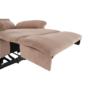 Kép 12/27 - LAMBERT Állítható masszázs  fotel,  fekete bársony anyag