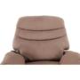 Kép 13/27 - LAMBERT Állítható masszázs  fotel,  fekete bársony anyag