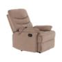 Kép 17/27 - LAMBERT Állítható masszázs  fotel,  fekete bársony anyag