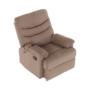 Kép 18/27 - LAMBERT Állítható masszázs  fotel,  fekete bársony anyag