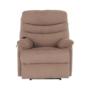 Kép 22/27 - LAMBERT Állítható masszázs  fotel,  fekete bársony anyag