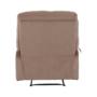 Kép 23/27 - LAMBERT Állítható masszázs  fotel,  fekete bársony anyag