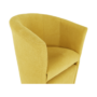 Kép 9/21 - ROSE Klub fotel puffal,  mustár