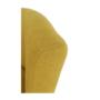 Kép 10/21 - ROSE Klub fotel puffal,  mustár
