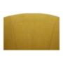 Kép 11/21 - ROSE Klub fotel puffal,  mustár