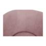 Kép 3/20 - ROSE Fotel puffal,  rózsaszín