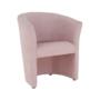 Kép 13/20 - ROSE Fotel puffal,  rózsaszín