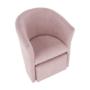 Kép 15/20 - ROSE Fotel puffal,  rózsaszín