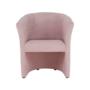 Kép 16/20 - ROSE Fotel puffal,  rózsaszín