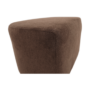 Kép 5/21 - ROSE fotel puffal,  barna