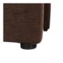 Kép 10/21 - ROSE fotel puffal,  barna